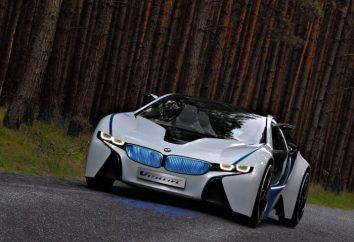 Dąży do przyszłości BMW Vision