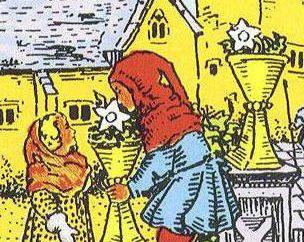 Interpretazione e significato dei Tarocchi: Sei di Coppe