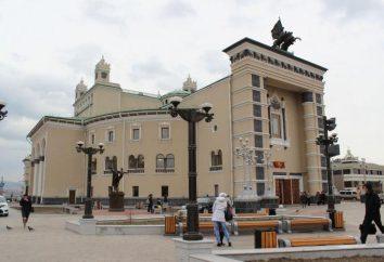 Jednym z najbardziej popularnych w Ułan-Ude – Opery i Baletu: Historia teatru, repertuar, opinie