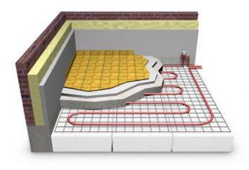 Radiant posadzki: opis właściwości i instalacji