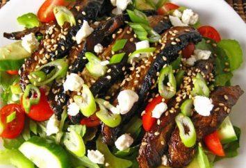 Comment faire cuire salade de champignons