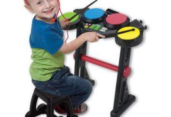 Zestaw perkusyjny dla dzieci to świetna zabawka