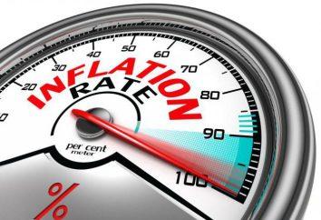 exemplos definição,: inflação aberto e reprimido