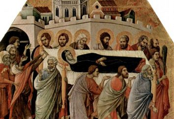 Chin sepoltura della Beata Vergine è il terzo giorno dopo l'Assunzione