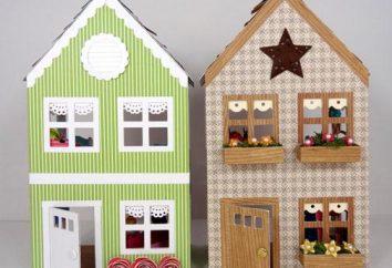 Faire une maison pour poupées avec leurs propres mains