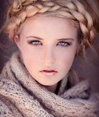 Bella tessitura su capelli lunghi
