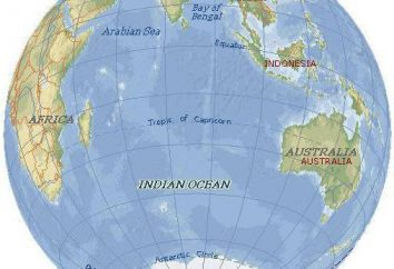 Océan Indien: la place et fonction