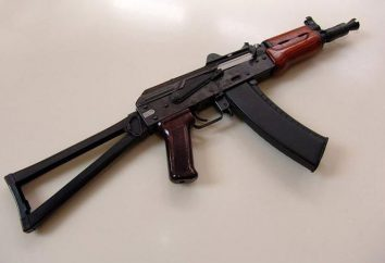 Kalashnikov fucile AKS-74U: Specifiche