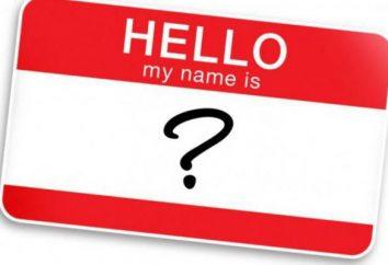 Nome da organização: exemplos. Como o nome da empresa?
