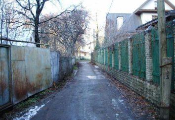 Où est la rue la plus courte de Moscou