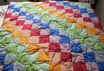 Patchwork di copriletto con le proprie mani. Come fare una coperta per bambini in stile patchwork