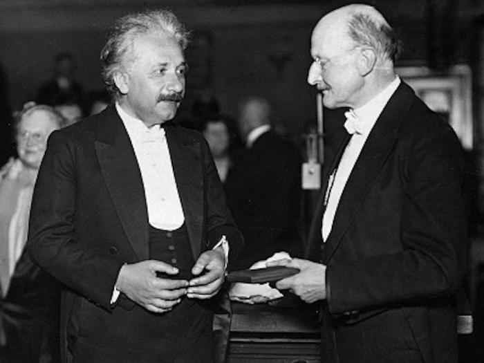 Einstein Nobelpreis 1921