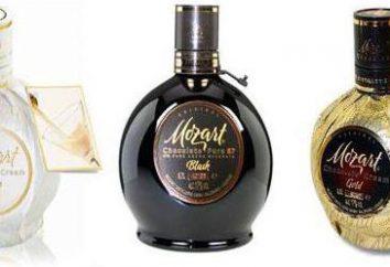 """Licor """"Mozart"""": tipos, composición"""
