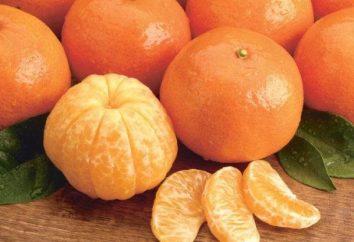 dieta Tangerine por 3 dias e 7 dias. dieta Tangerine para perda de peso: comentários