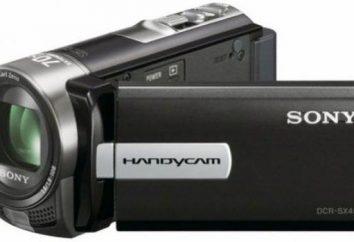 Panoramica videocamera Sony DCR SX45e