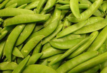 guisantes cocidos: valor calórico y nutricional