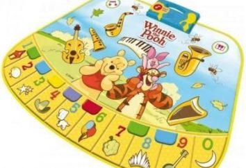 Mats musicais – brinquedos educativos úteis