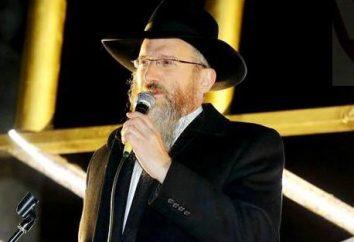 """Chefe Rabino da Federação Russa Lazar Berl: biografia, família. O livro """"Rússia judaica"""""""