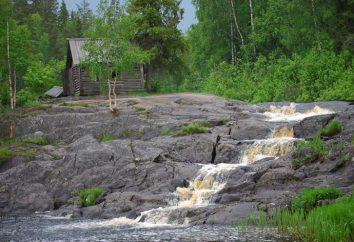 Ruskeala Wasserfälle und Marmorschlucht in Korelia