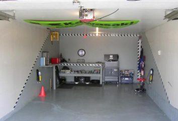 O tamanho da garagem para 1 carro. O tamanho óptimo da garagem