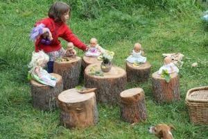 Plac zabaw w przedszkolu własnymi rękami