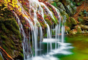 Wodospad Jur-Jur. Krym.Ukraina