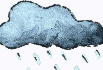 Come rendere la pioggia per magia