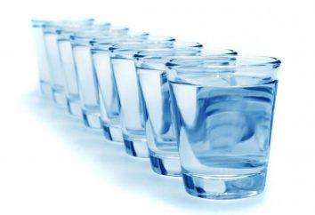 Belebende Kraft der Natur, oder wie viel Sie brauchen Wasser pro Tag trinken