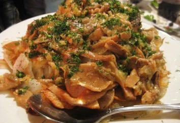 Jak grzyby gotowane? Chanterelles na patelnię z ziemniakami