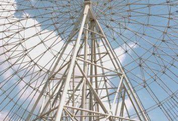 La rueda de la fortuna más grande en el mundo, ya sea construido en Moscú?