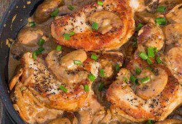 Pique com cogumelos: segredos de cozinha