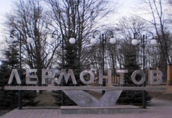 Onde é a cidade de Lermontov? Cáucaso Learmonth: mapa, fotos