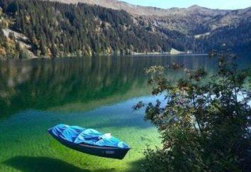 Amut Lake, Khabarovsk Krai: descrizione, attrazioni e recensioni