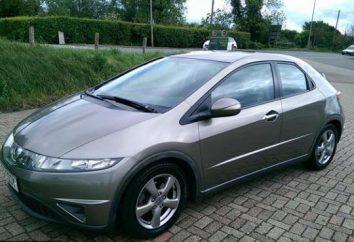 Honda Civic 5D: spécifications techniques, des critiques, des prix et des photos