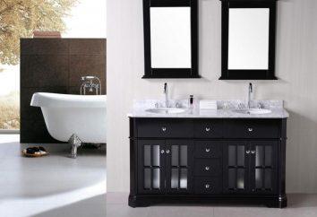Stylowa łazienka umywalka cokole