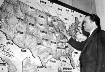 Direttore del Federal Bureau of Investigation Edgar Guver: biografia, la vita personale, le foto