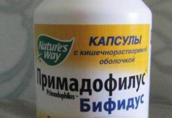 """""""Bifidus Primadofilus"""": el coste de la medicación y las instrucciones para su uso"""