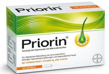 """Lek """"Priorin"""" – witaminy dla włosów. Recenzje i instrukcje użytkowania"""