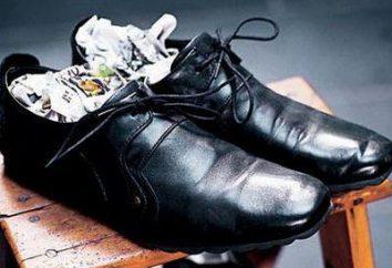 Odpowiedź na pytanie, jak włamać się nowe buty