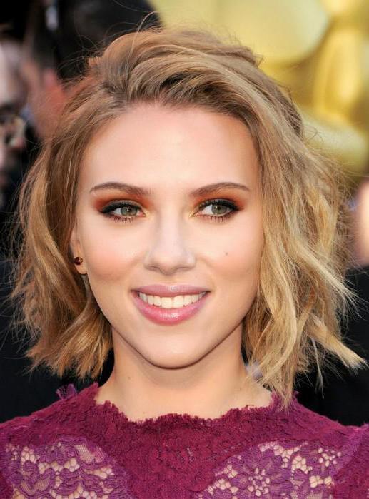 Haircut Scarlett Johansson Ciò Che Ha Appena è Stato