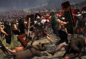 """La guerre civile à Rome. Causes des guerres civiles à Rome. Tableau """"Guerres civiles à Rome"""""""