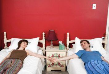 Cómo dormir mejor cónyuges – en una cama o por separado?