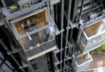 ascenseur panoramique: types, la conception, la taille. ascenseur de passagers