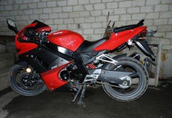 Motocykl Patron Sport 250: jednostka Chinach