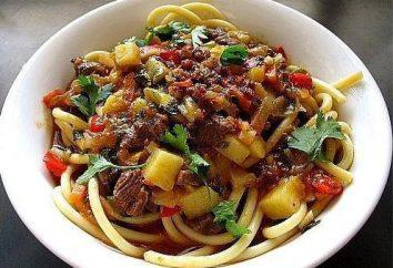 Noodles Dungan: in particolare la cucina, le migliori ricette