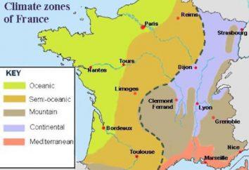 O clima de France e suas características