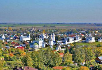 Mosteiro de Alexander (Suzdal): História e Arquitetura