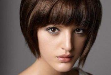 Variedades quads. Corte de cabelo bob-bob com franja oblíqua quadrado ou clássico – o que escolher?