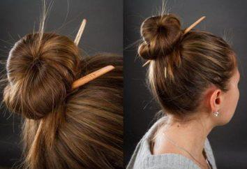 Fryzura z ołówkiem. Najbardziej proste fryzury na każdy dzień