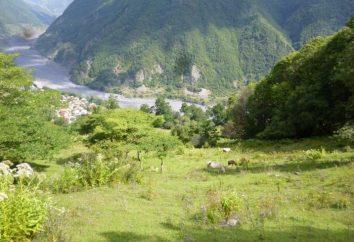 Górska rzeka i wieś Ashe: odpoczynek, opinie, atrakcje